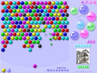 Bubble Shooter level screenshot