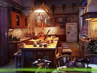 Campfire Legends Babysitter Kitchen