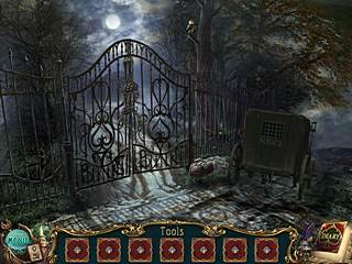 Haunted Legends The Queen of Spades mansion entrance