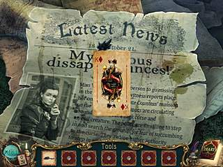 Haunted Legends The Queen of Spades cards