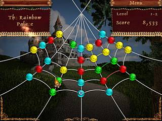 Rainbow Web 2 Playfield