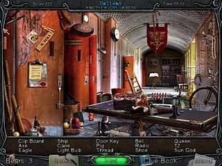 The Institute Backy Brogan Adventure Hallway