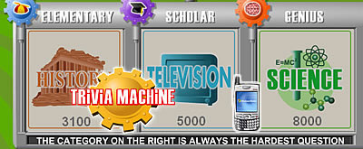 Trivia Machine for Pocket PC