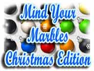Mind Your Marbles Christmas Edition