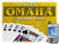 Aces Omaha for Pocket PC