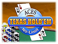 Aces Texas Hold'em - No limits for Pocket PC