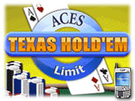 Aces Texas Hold'em - Limit for Pocket PC