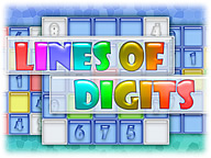 Lines of Digits: Fun Math Game