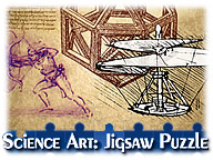 Science Art: Jigsaw Puzzle