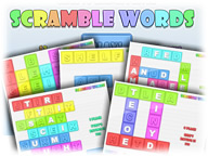 Scramble Words Puzzle